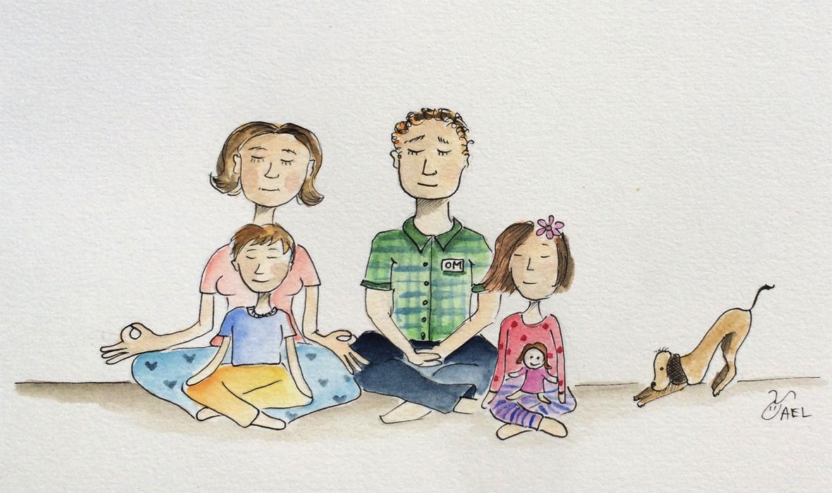 יוגה משפחה